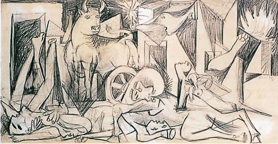 Pablo Picasso_Guernica