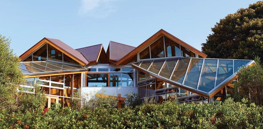 Frank and Berta Gehry's house in Santa Monica, California