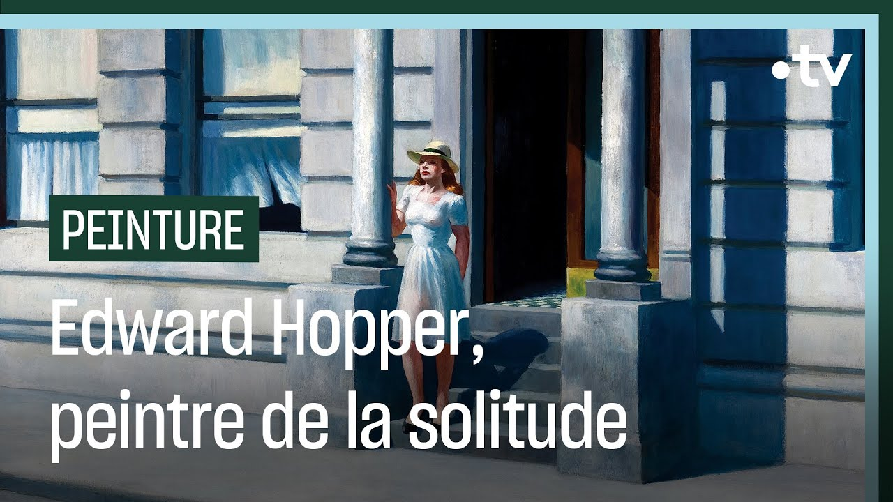 Painters by Hopper express what many countries are currently experiencing in the flesh: isolation and social distancing as measures to curb the spread of COVID-19.