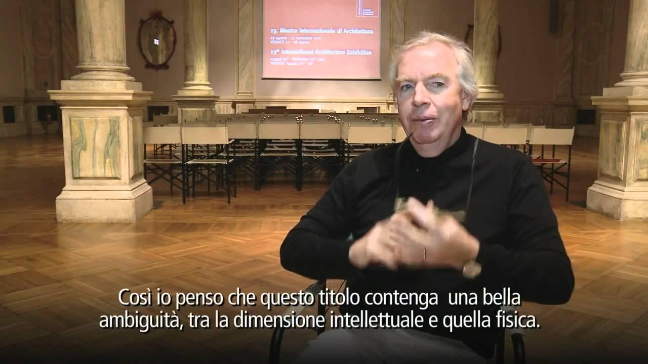 Bajo el tema 'Common Ground' (Territorios Comunes), se celebrará la próxima edición de la Bienal de Arquitectura de Venecia, dirigida por David Chipperfield.