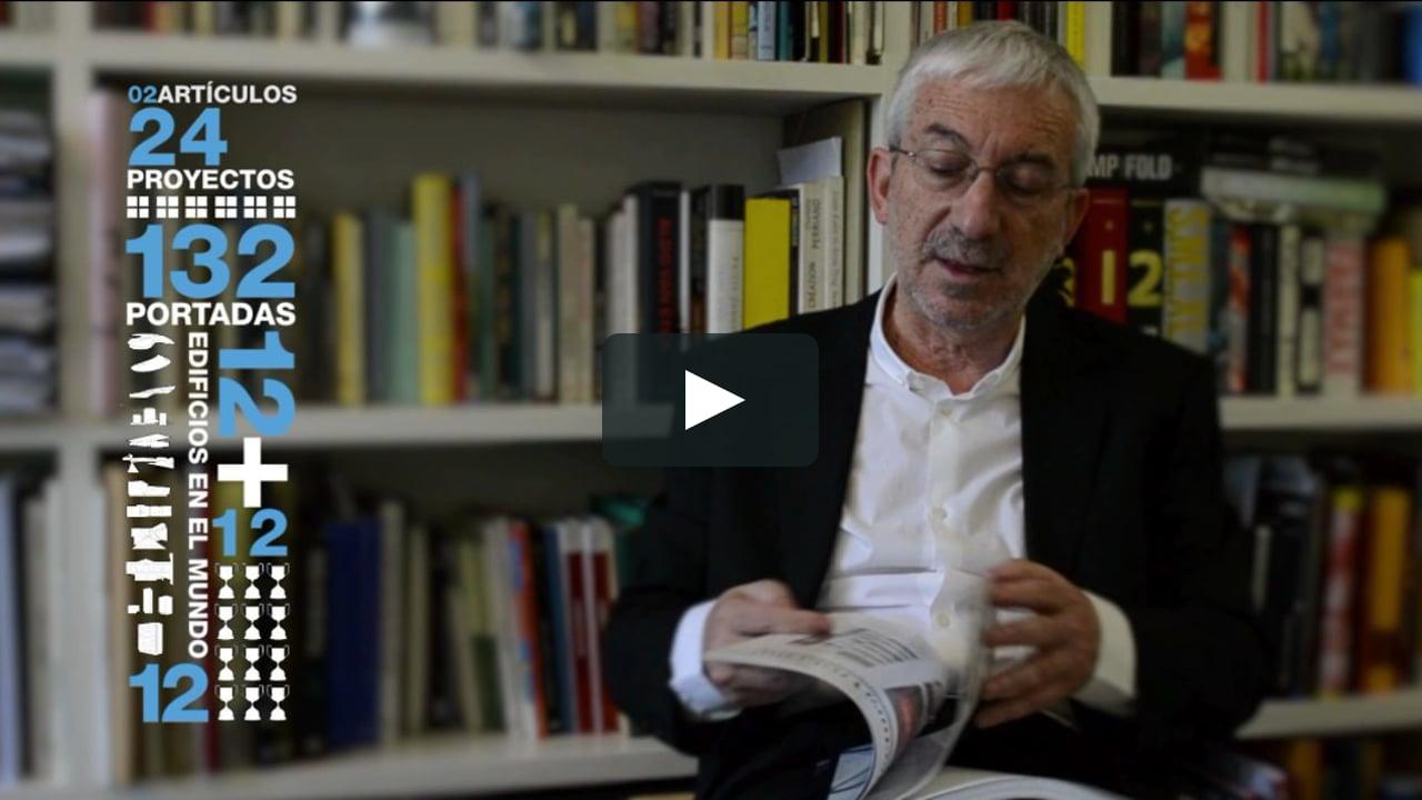 Luis Fernández-Galiano explica en qué consiste el Anuario de Arquitectura Española, cuando se cumplen veinte años de la publicación del primero de la serie.