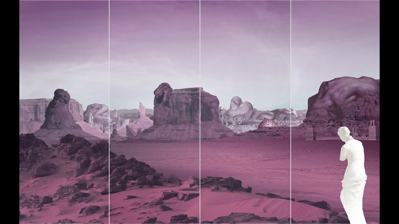 For the 2016 Fall/Winter Women Prada Premonition, AMO reveals the imagery of the show in the form of a metaphysical journey through an oneiriccollaged landscape.