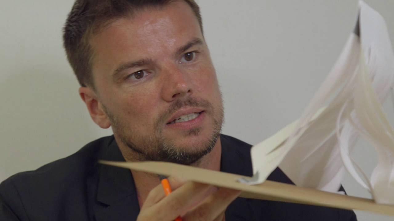 Architect of the 2016 Serpentine Pavilion, Bjarke Ingels, takes the Build Your Own Pavilion challenge and makes a model of a Pavilion from paper. Build Your Own Pavilion is a competition for 8-14 year olds to create their own model Pavilion.