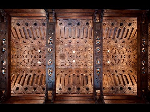 On the basis of a 17th-century codex, Enrique Nuere brings back the forgotten techniques of Spanish interlaced carpentry that were used to build star-filled vaults representing the sky.