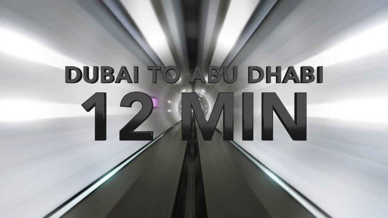 Designed by Bjarke Ingels Group, Hyperloop high-speed transportation system can take passengers from Dubai to Abu Dhabi in 12 minutes, compared to a two-hour drive.