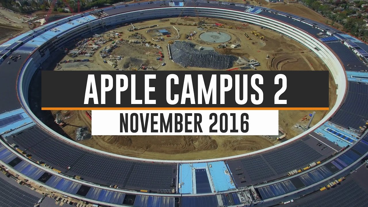 Construction of the new Apple campus in the northern Californian city of Cupertino, a project of the office of Norman Foster, is well underway. The complex concentrates offices and facilities for 12,000 employees in a 230-meter-radius ring.
