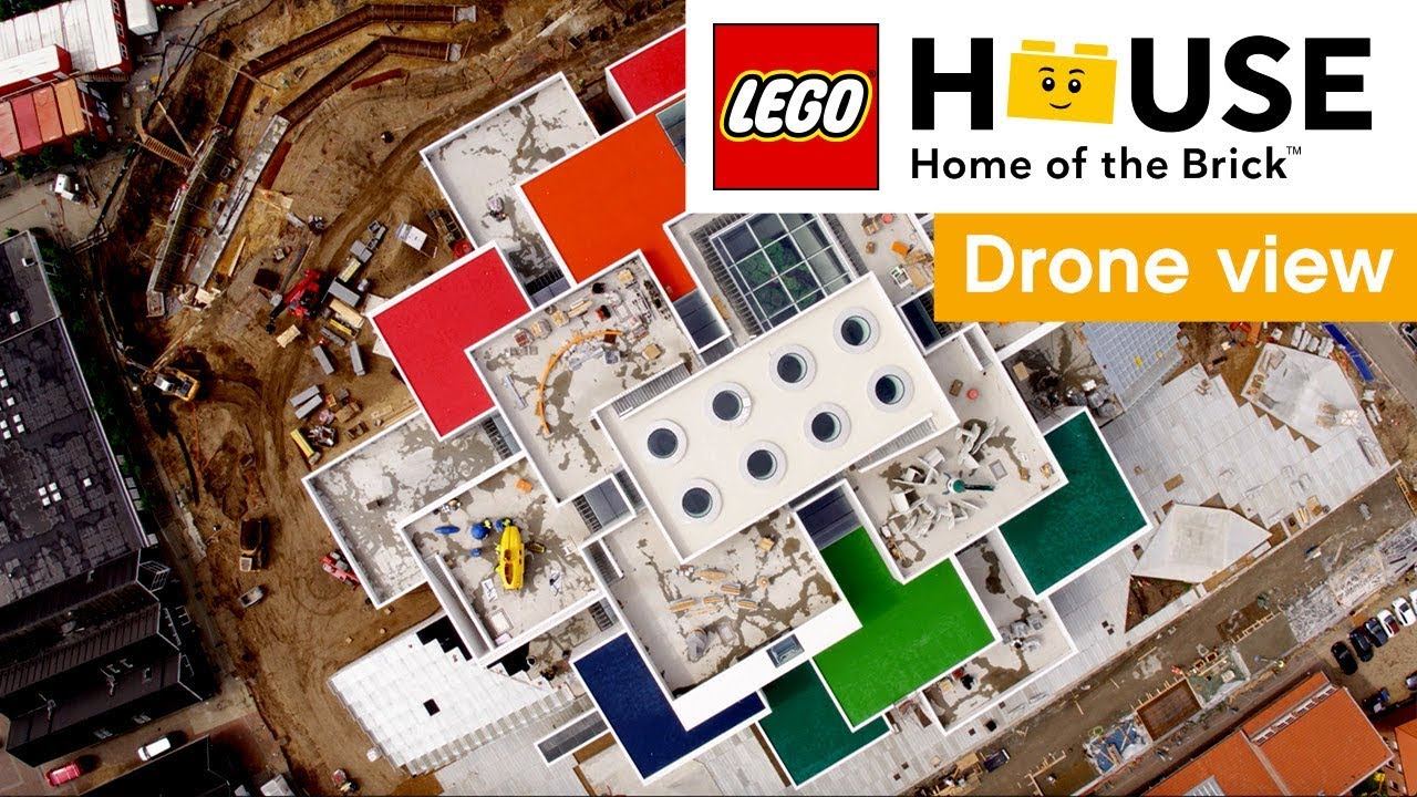 Designed by architect Bjarke Ingels, LEGO House in Billund (Denmark) will open on 28 September. Made from 21 interlocking parts, with an amazing LEGO brick shaped keystone on top...