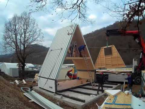 ?M.A.Di. is an unfoldable modular living unit. Using an unfolding technique, this construction system allows to realize earthquake-resistant buildings for residential, leisure and hospitality. M.A.DI. can be also used to set-up of temporary villages for sports...