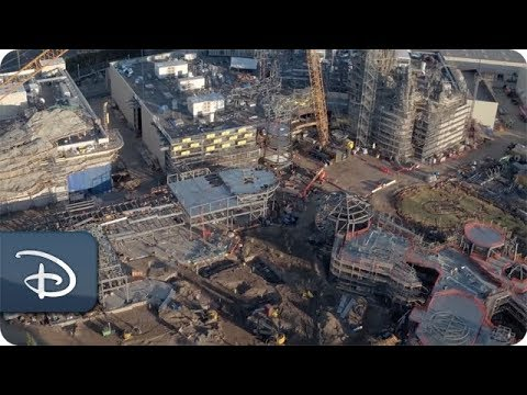 While the highly anticipated Star Wars: Galaxy's Edge lands won't debut to Disneyland and Walt Disney World Resort guests until 2019, eager fans can take a voyage over the Star Wars:Galaxy's Edge construction site - right now!...