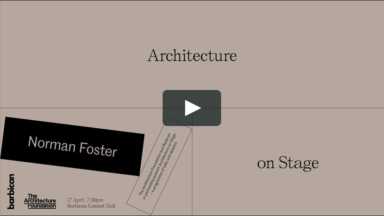 Norman Foster addressed at the Barbican Centre in London the challenges of urbanisation and sustainability, looking at how a philosophy of 'doing more with less' can help generate design solutions.Foster used examples from around the world and discussed...