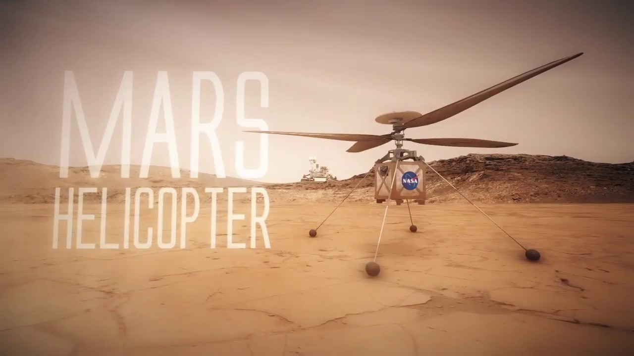 The Mars Helicopter is a technology demonstration that will travel to the Red Planet with the Mars 2020 rover. It will attempt controlled flight in Mars' thin atmosphere, which may enable more ambitious missions in the future...