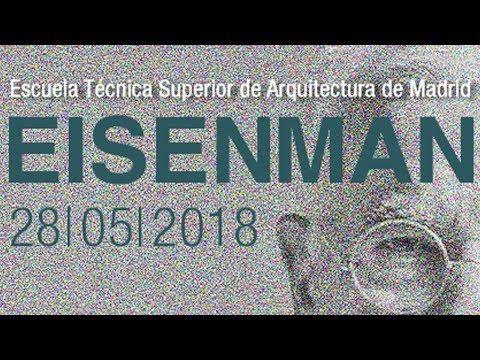 La conferencia 'On the Problems of Digital Architecture' dePeter Eisenman se sitúa dentro del ciclo del Máster Habilitante de la Escuela Técnica Superior de Arquitectura de Madrid...