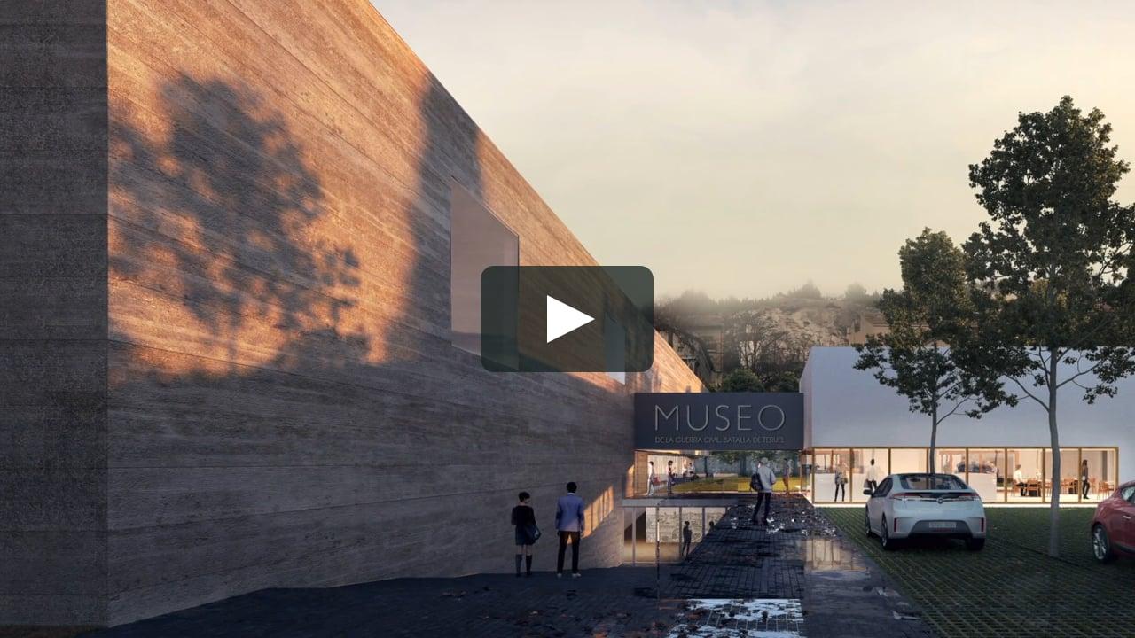 BCQ Arquitectes colabora con el historiador de la Universidad de Barcelona Joan Santacana en el proyecto 'Museo de la Guerra Civil. Batalla de Teruel'. Sus 3.500 metros cuadrados y tres plantas incluyen un auditorio, un centro de documentación y un jardín.