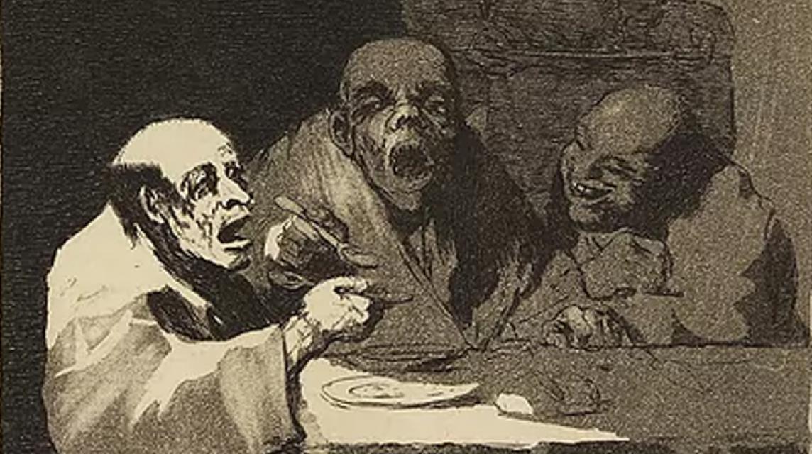 Los 'Caprichos' de Goya en la RABASF
