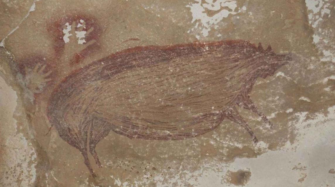 Hallada en Indonesia la pintura rupestre más antigua del mundo