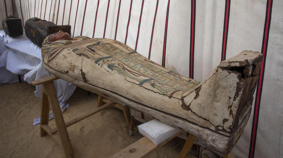 Cientos de nuevos hallazgos en Saqqara