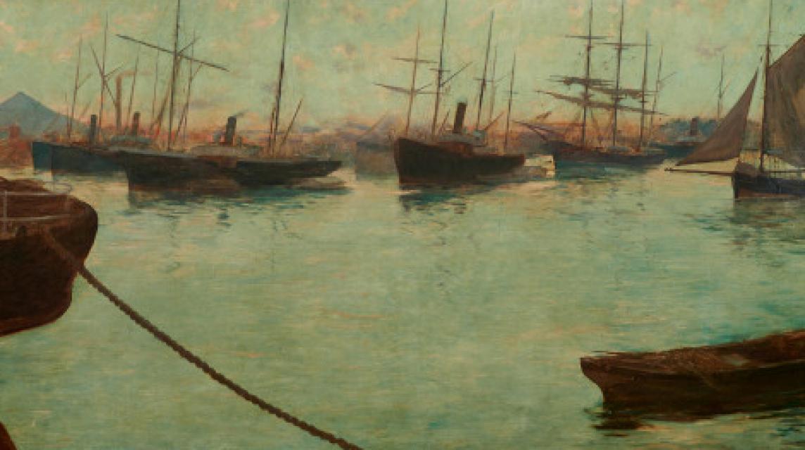 La metamorfosis de Bilbao a través de la pintura