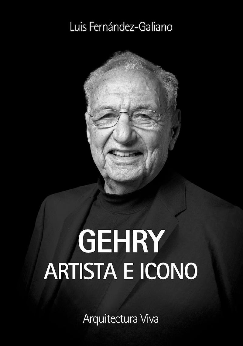 Portada del libro de Frank Gehry