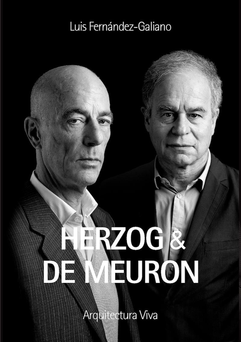 Portada del libro de Herzog & de Meuron