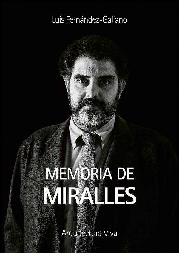 Portada del libro de Enric Miralles