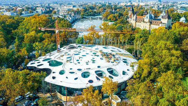 Finalizada la estructura de la Casa de la Música Húngara