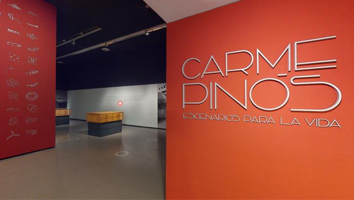 Visita virtual de la exposición de Carme Pinós