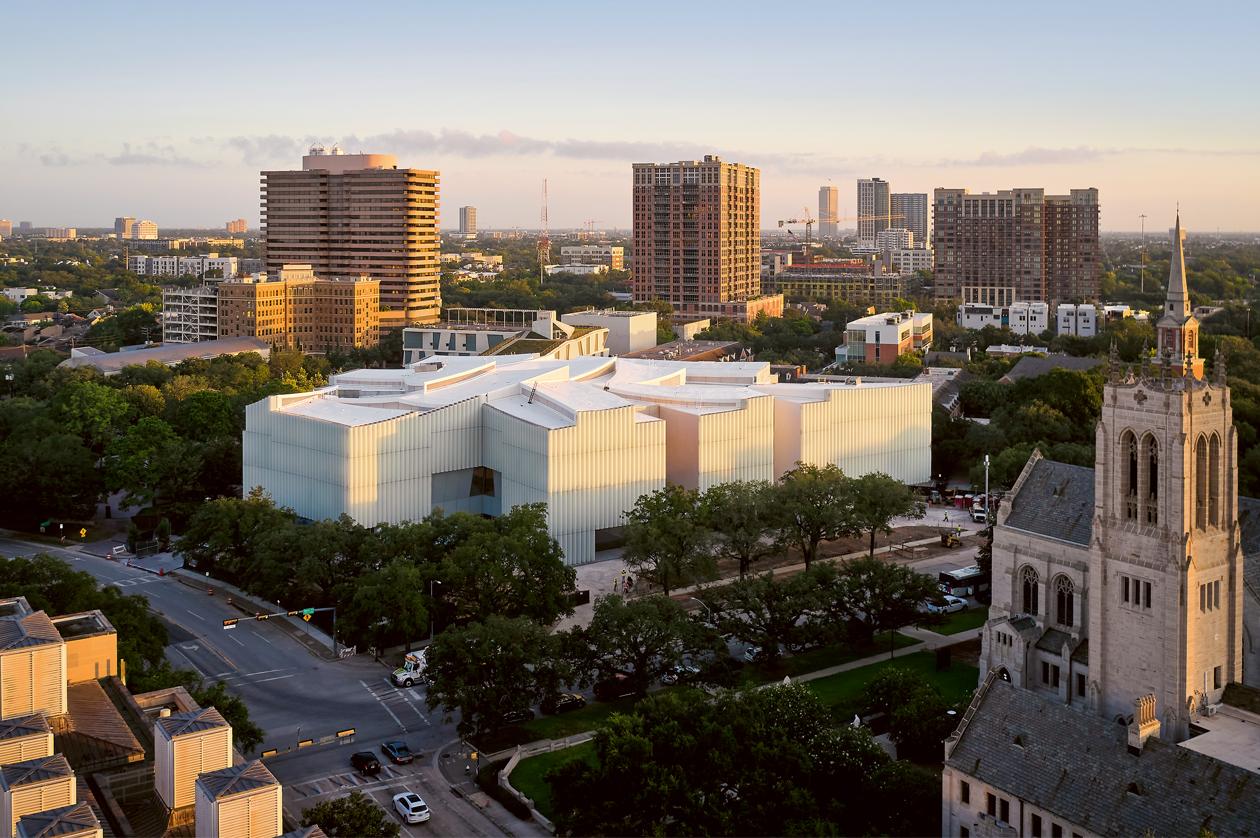 Ampliación del Museo de Bellas Artes en Houston