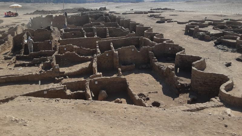 Hallada la ciudad perdida de Luxor, con más de 3.000 años de antigüedad