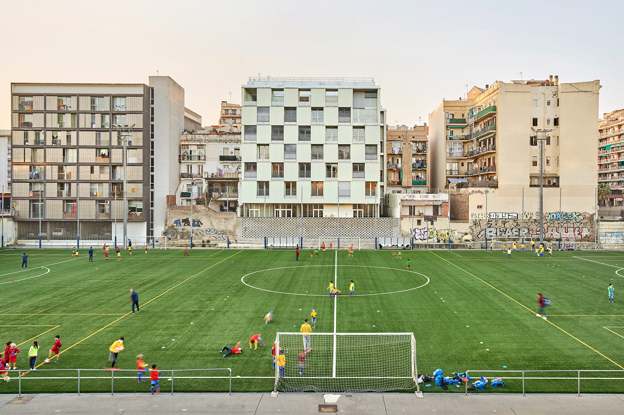Viviendas sociales en Barcelona