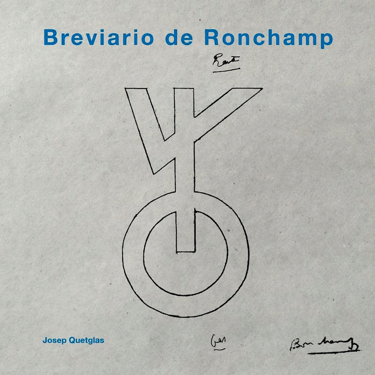 Breviario de Ronchamp