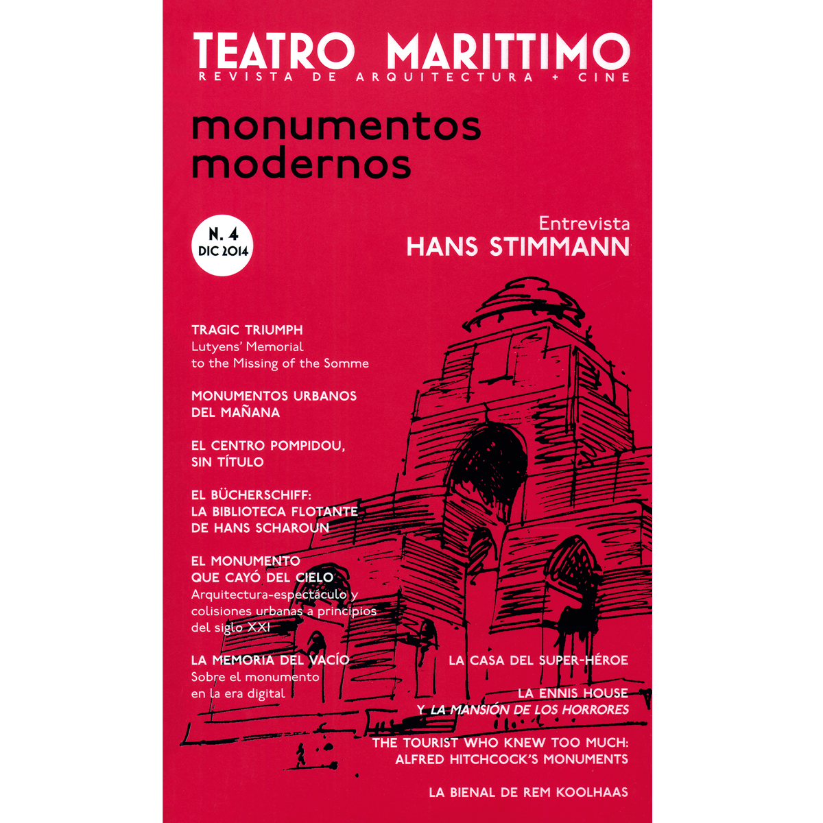 Teatro Marittimo: Monumentos modernos