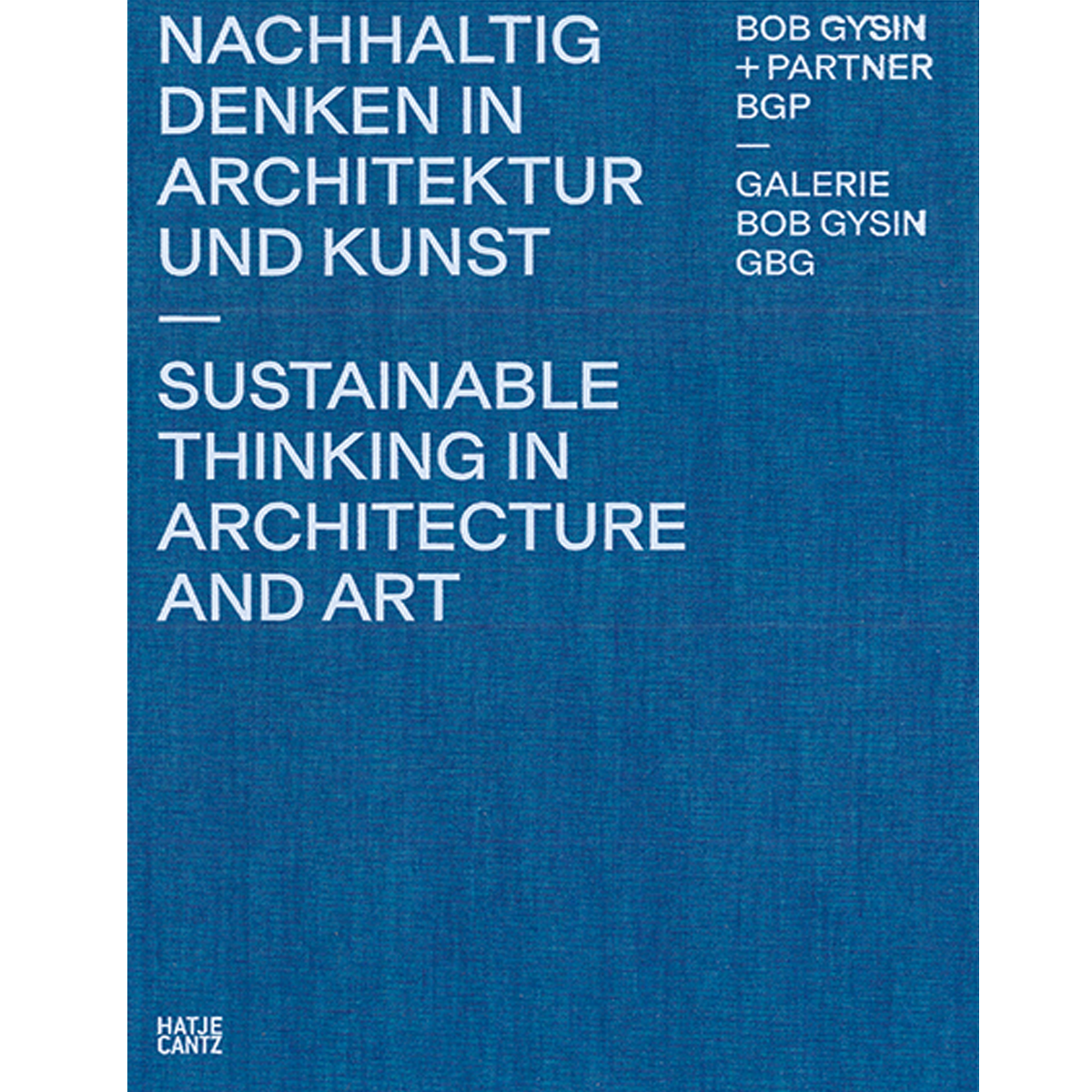 Sustainable Thinking in Architecture and Art