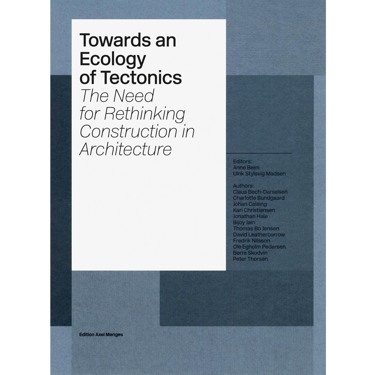 Towards an Ecology of Tectonics