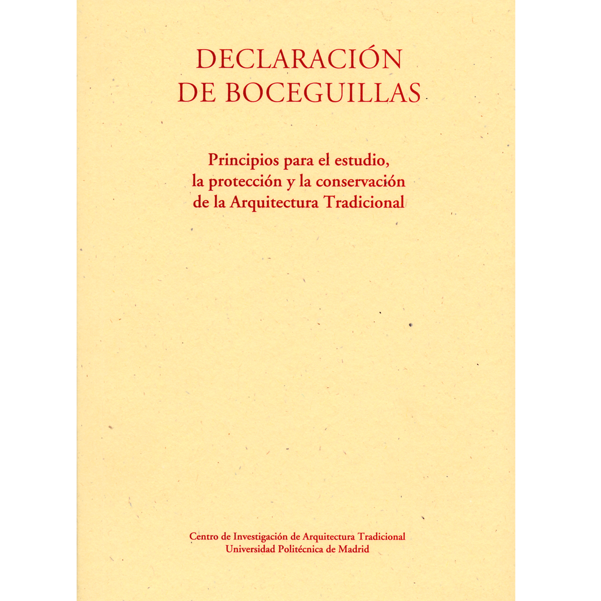Declaración de Boceguillas