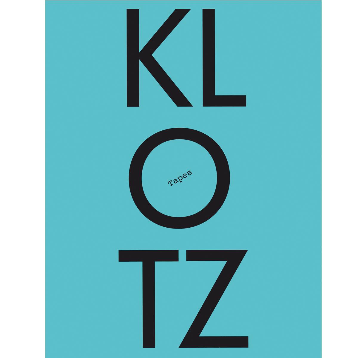 ARCH+: Die Klotz-Tapes