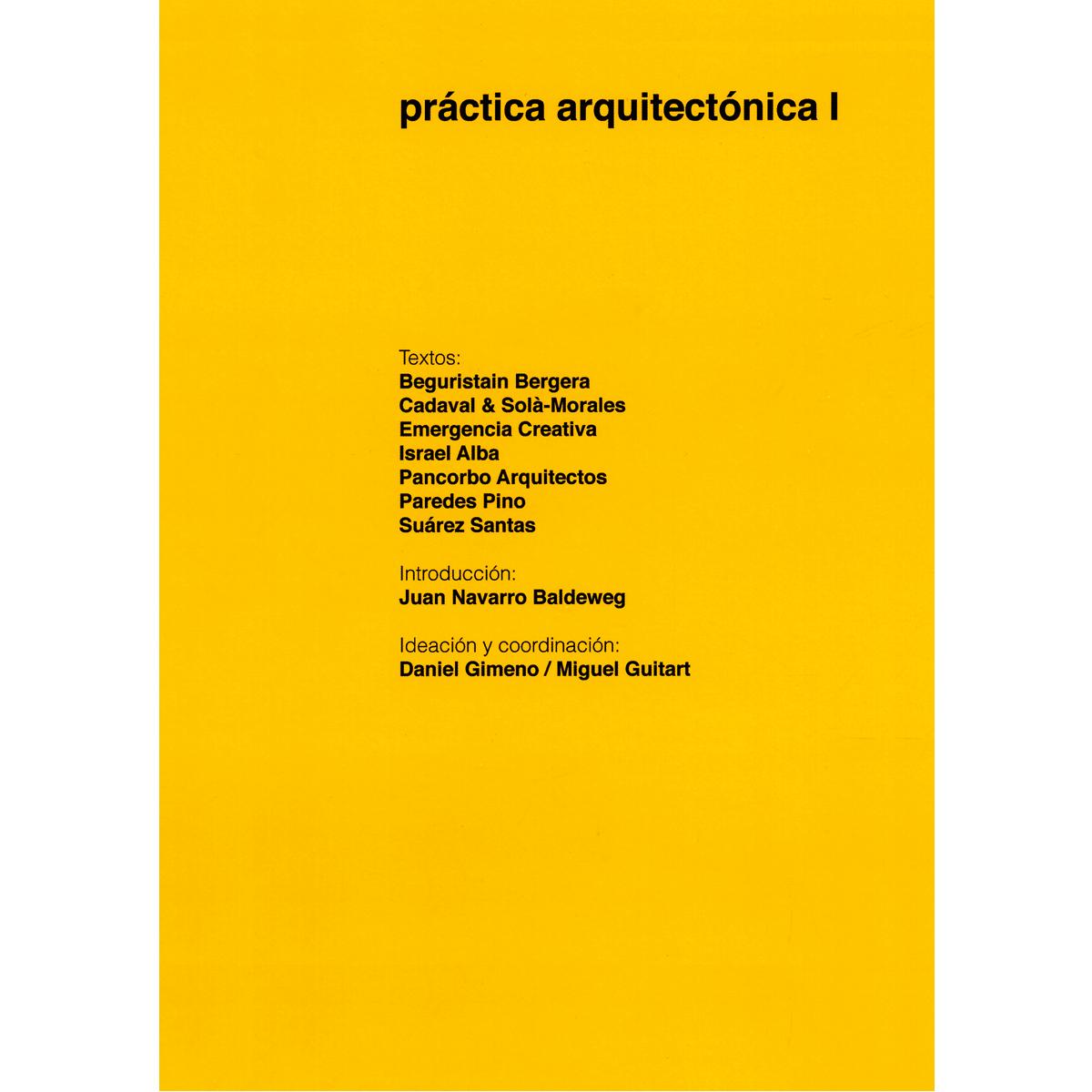 Práctica arquitectónica I
