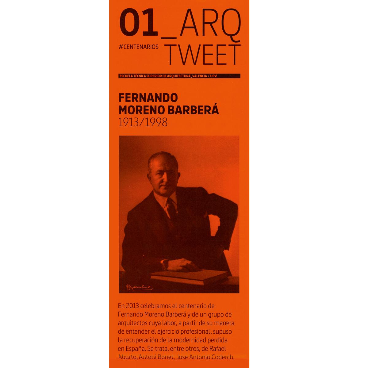 Arq Tweet: Fernando Moreno Barberá