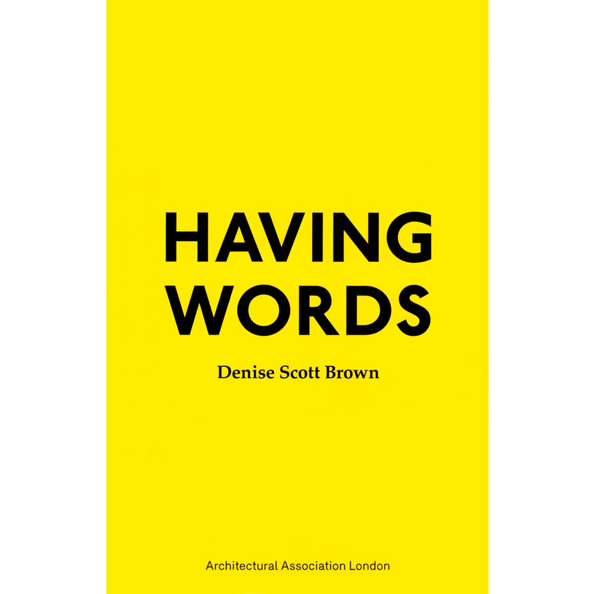 Having Words