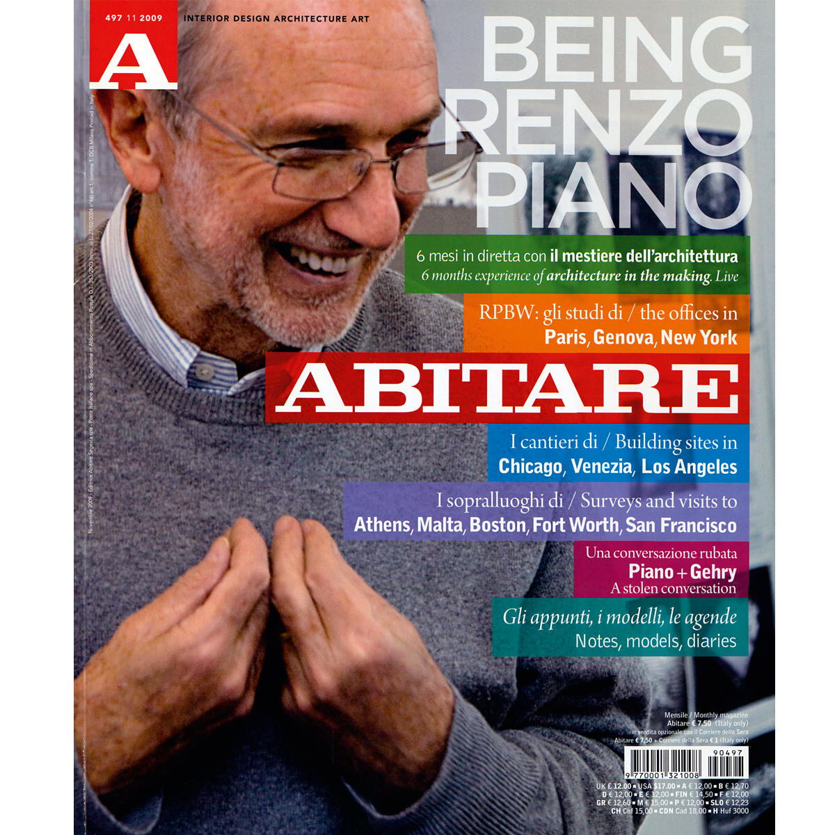 Abitare: Being Renzo Piano