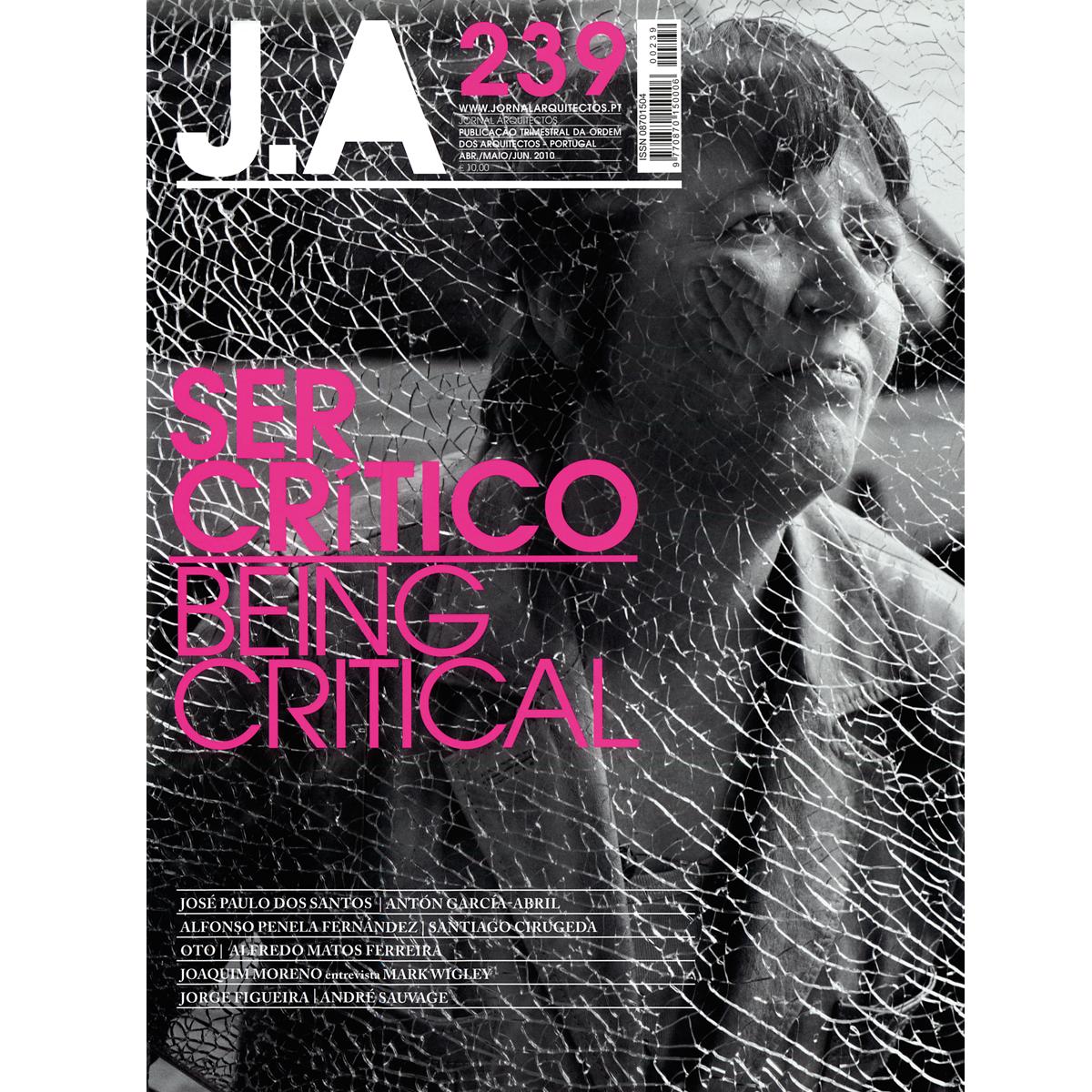 JA: Being Critical