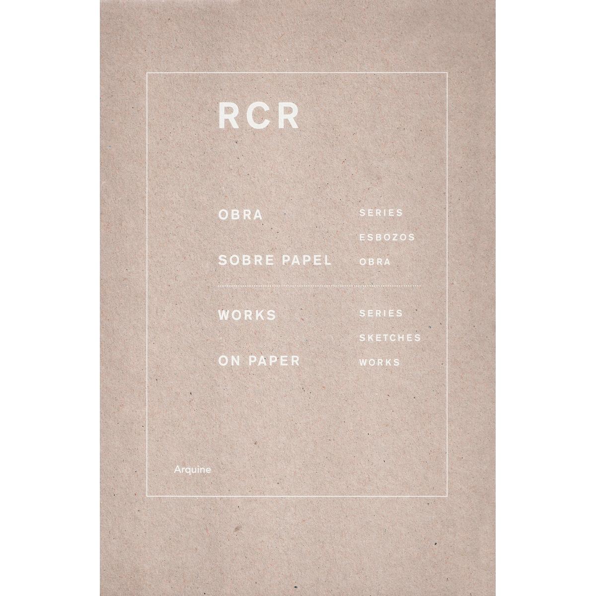 RCR arquitectes. Obra sobre papel