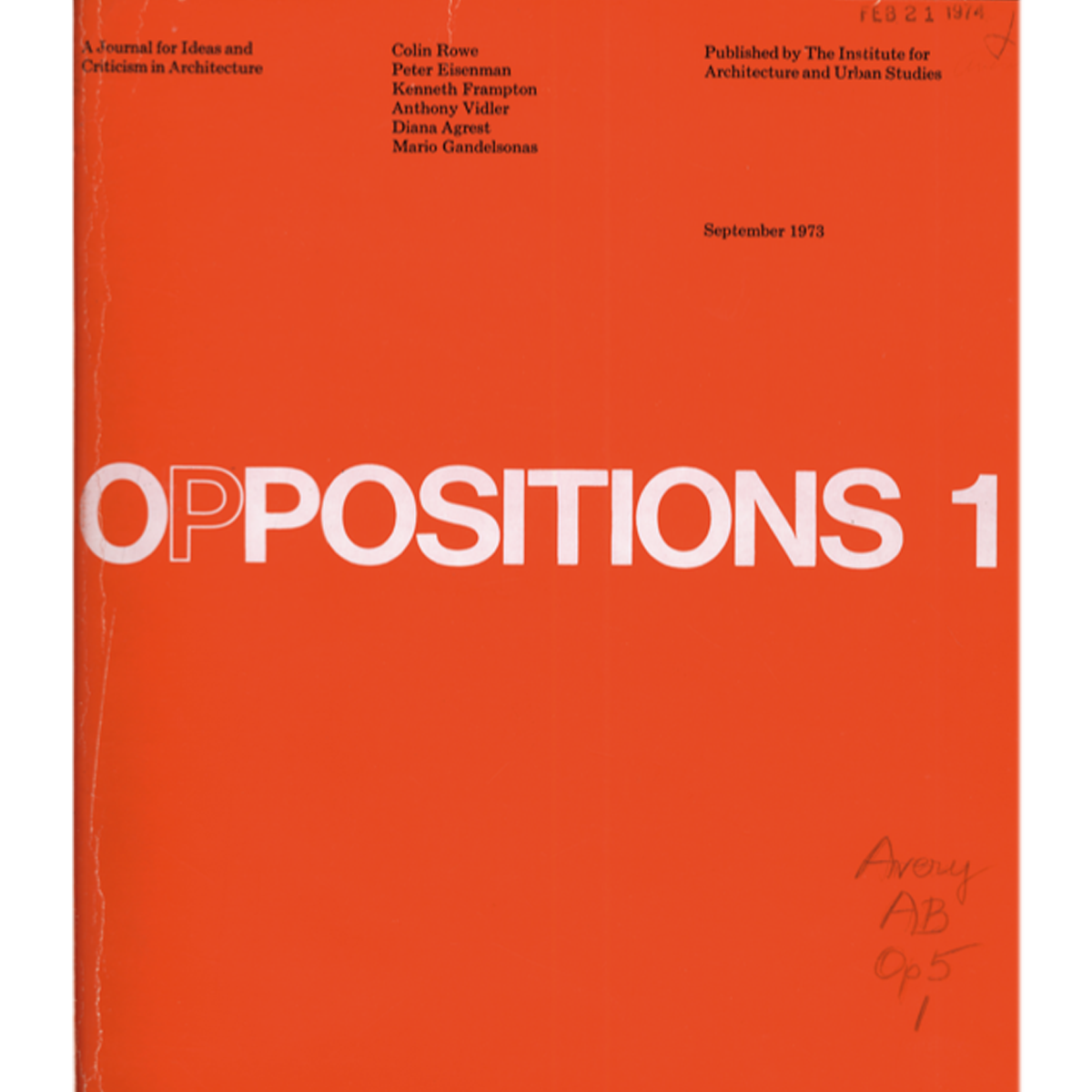 Oppositions