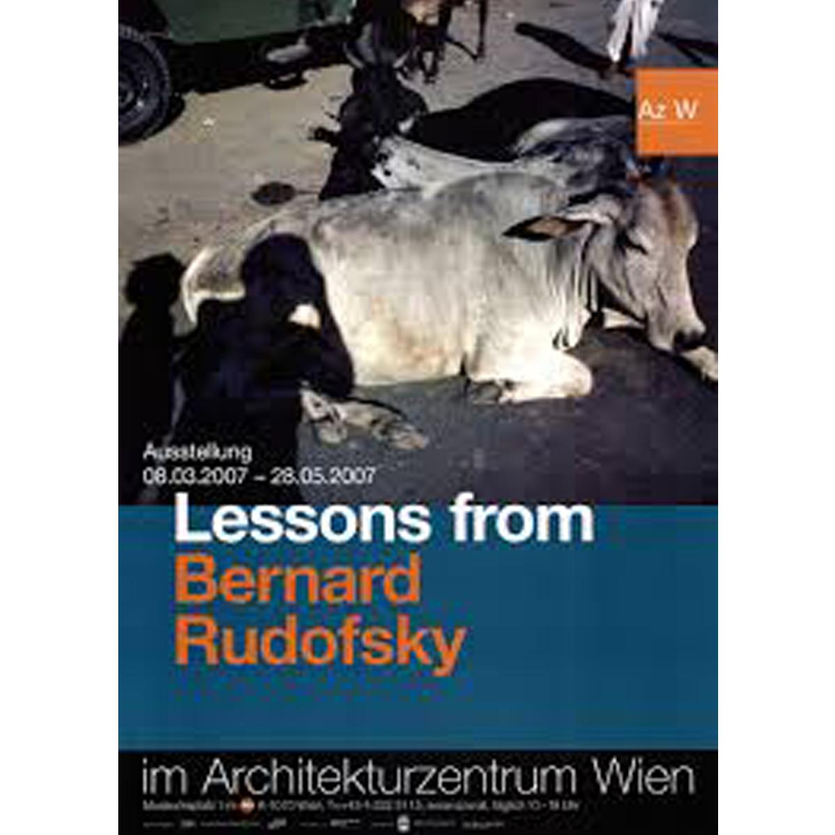 Lessons from Bernard Rudofsky