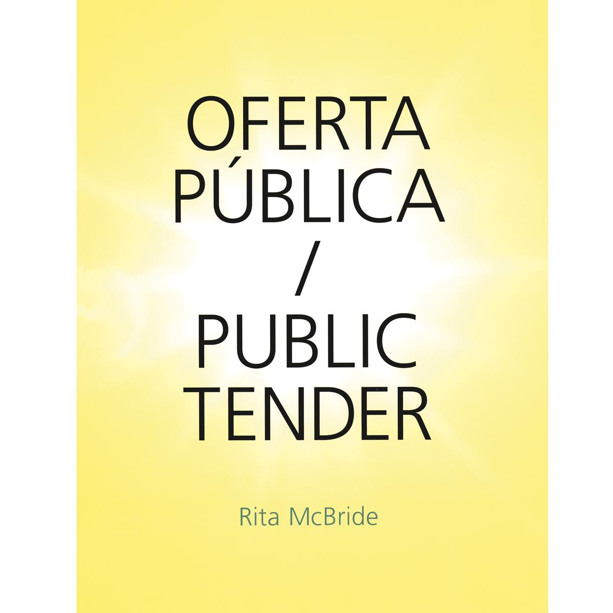 Oferta pública / Public Tender