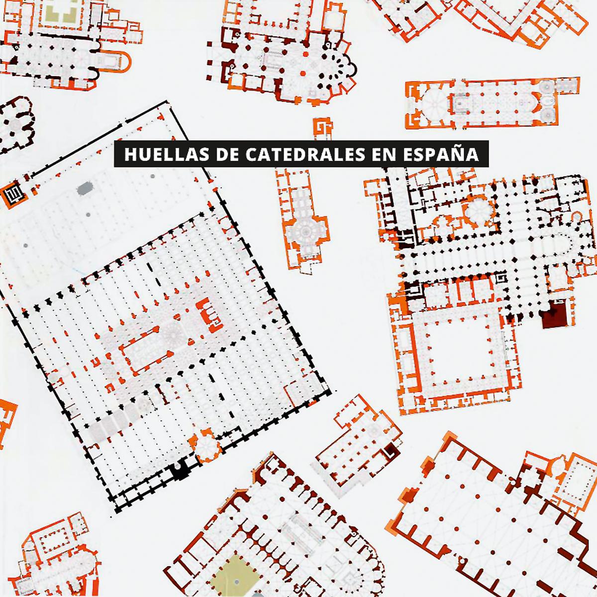 Huellas de Catedrales en España