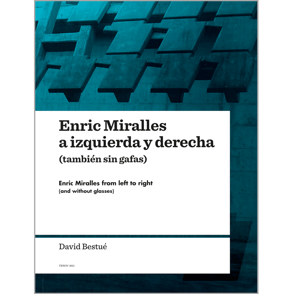 Enric Miralles from left to right