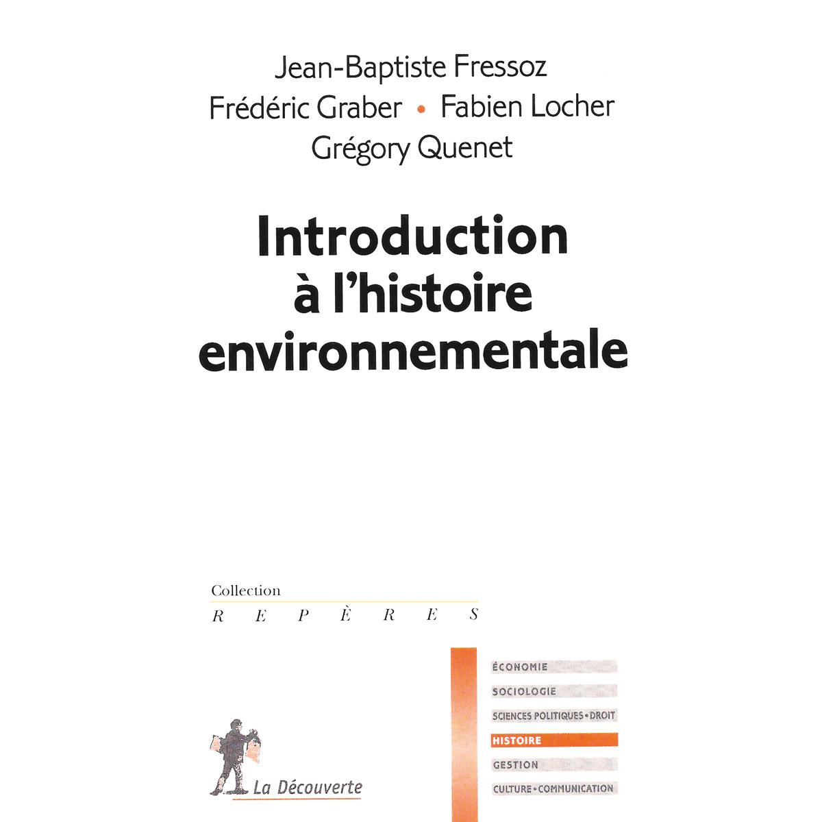 Introduction à lhistoire environnementale