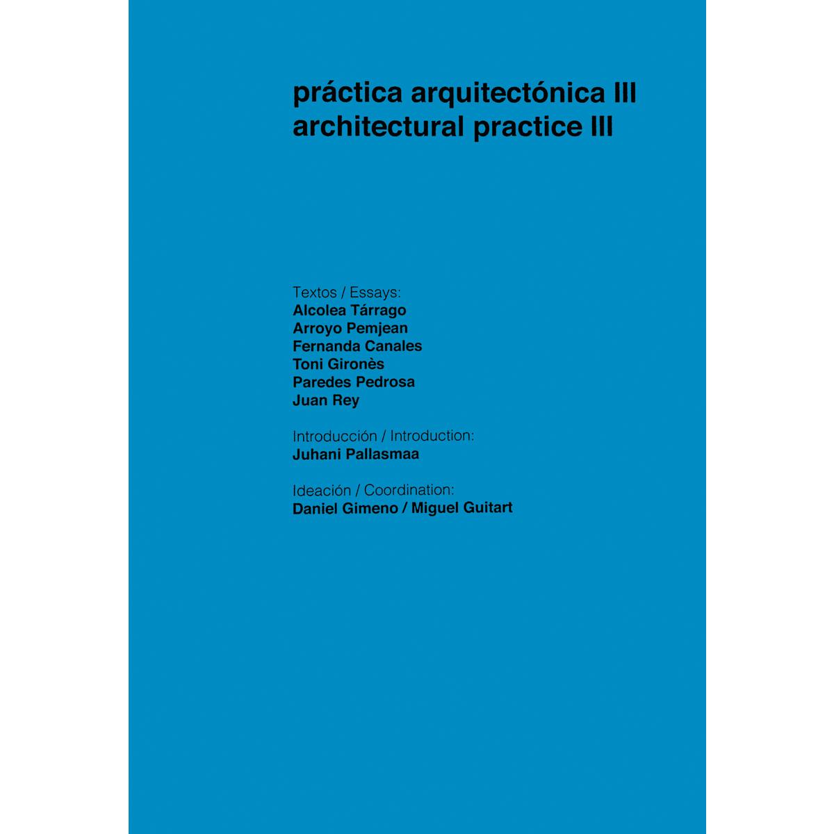 Práctica arquitectónica III