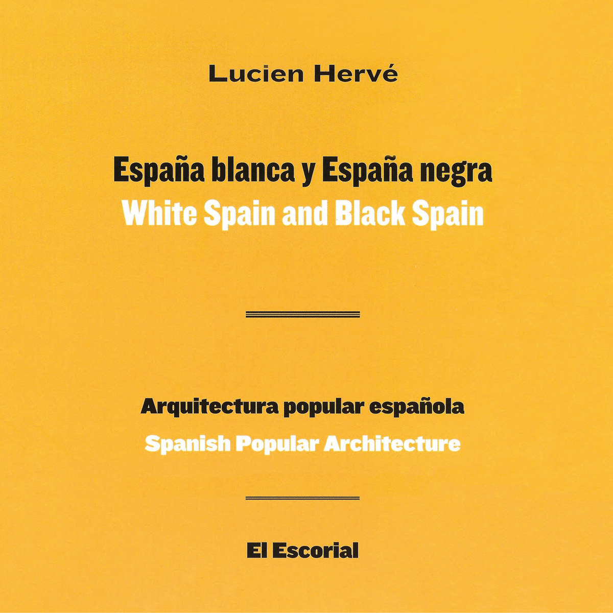 White Spain and Black Spain