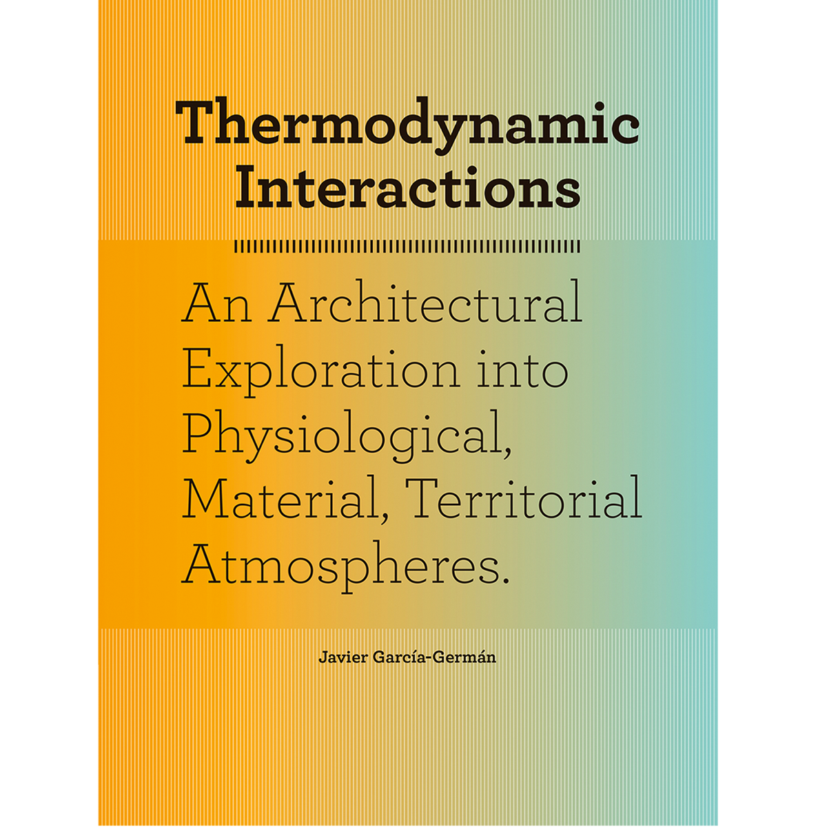 Thermodynamic Interactions